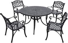 Hinfallen Schon Cast Aluminum Outdoor Table And Chairs Cover ...