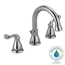 Brushed Nickel Bathroom Faucets Delta by Delta Trinsic 8 In Widespread 2 Handle Bathroom Faucet With Metal