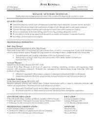 Sample Resume Maintenance Technician For Industrial
