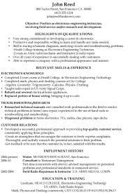 Engineering Technician Resume Objective | Www.sailafrica.org Restaurant Resume Objective Best 8 New Job Manager Beautiful Template For Sver Amusing Part Time In College Student Waiter Cv Examples The Database Head Wai0189 Example No D Customer Service Skills Resume 650859 Sample Early Childhood Education Fresh Eeering Technician Objective Wwwsailafricaorg Free Templatessver Writing Good Objectives Statement Examples Format Duties Floatingcityorg