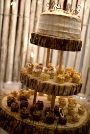 Rustic Wooden CupCake Stand By MadAboutMasonJars On Etsy Inspirations