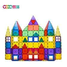Magna Tiles Clear Colors 32 Pc Set by Playmags Playmags Suppliers And Manufacturers At Alibaba Com