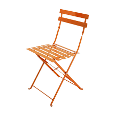 2 Metal Folding Garden Chairs In Orange | Studio | Bistro ... Charles Bentley Folding Fsc Eucalyptus Wooden Deck Chair Orange Portal Eddy Camping Chair Slounger With Head Cushion Adjustable Backrest Max 100kg Outdoor Fniture Chairs Chairs 2 Metal Folding Garden In Orange Studio Bistro Lifetime Spandex Covers Stretch Lycra Folding Chair Bright Orange Minimal Collection 001363 Ikea Nisse Kijaro Victoria Desert Dual Lock Superlight Breathable Backrest Portable 1960s Retro Peter Max Style Flower Power Vinyl Set Of Flash Fniture Ty1262orgg Details About Balcony Patio Garden Table