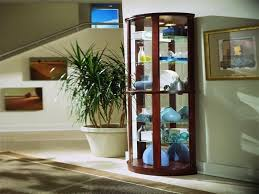 Living Room Corner Cabinet Ideas by Modern Curio Cabinet For Your Living Room Interior Decorations
