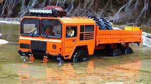 100 Big Truck Adventures 3 RC ADVENTURES Axles Deep Orange Beast 6x6 On Patrol At Autumn