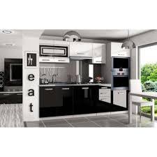 cuisine complete cuisine complete noir laque cuisines completes avec electromenager