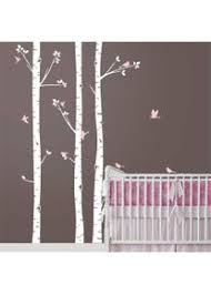 allah wandtattoo groß baby kinderzimmer birken bäume mit