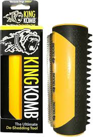 Horse Hair Shedding Tool by King Kanine King Komb Ultimate Deshedding Brush For Dogs Cats