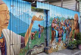 Balmy Alley Murals Mission District by Open Your Heart To Art Free Art To See In U201cthe City By The Bay
