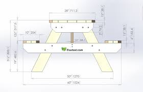 furniture home plans for round picnic table modern elegant new