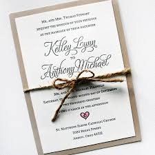 Elegant Rustic Wedding Invitations Mospensstudio