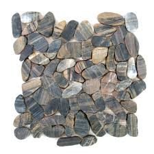 Sliced Pebble Tiles Uk by 100 Sliced Pebble Tile Border Home Depot Glass Tile Awesome