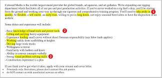 Example Job Description For Painter Resume