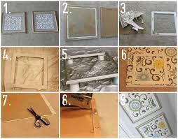 Diy Fabric Art Househoff Regarding Recent Framed Wall Gallery 2 Of 20