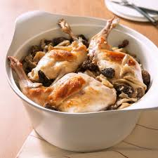 cuisiner du lapin facile cuisses de lapin safranées fricassée de chignons pour 6