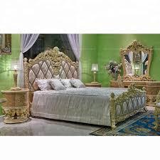 luxus französisch schönheit vintage betten antike holz gold