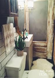 Rustic Glam Bathroom