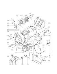 Tub Drain Assembly Diagram by Lg Washer Parts Model Wm2487hwm Sears Partsdirect