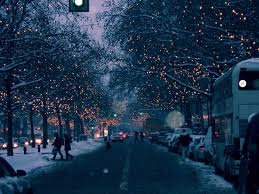 Prelit Christmas Tree That Puts Up Itself by Berlin Lights Lights Pinterest Christmas Lights Snow Images