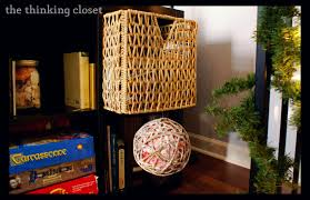Kohls Christmas Tree Toppers by D I Y Twine Ball Tree Topper U2014 The Thinking Closet