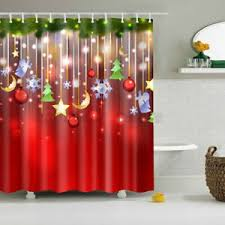 rot hintergrund weihnachten 180x180cm dekor wasserfest bad