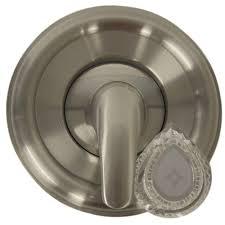 Home Depot Moen Bathroom Faucet Cartridge by Danco Single Handle Valve Trim Kit For Moen Tub Shower In Brushed
