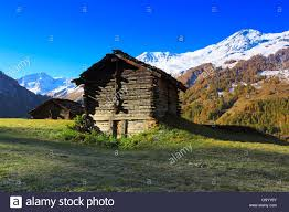 100 Log Cabins Switzerland Log Cabins In A Meadow At The Val D H Rens Valais