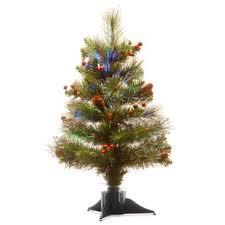Fiber Optic 24 Green Spruce Tree Christmas