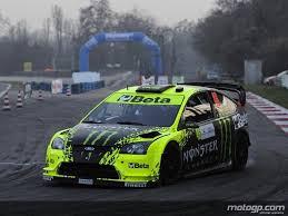 deco voiture de rallye ford focus wrc monza 2009
