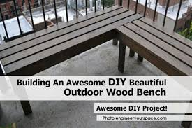 outdoor wood bench engineeryourspace com jpg