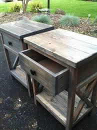 best 25 diy end tables ideas on pinterest pallet end tables