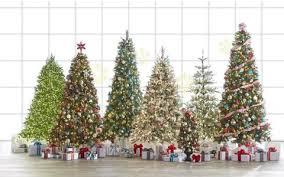 Bright Pre Lit Christmas Tree Home Depot