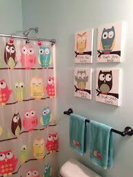 kids owl bathroom art hometalk
