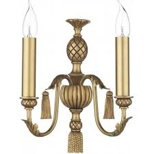 classic antique gold wall light for period georgian regency
