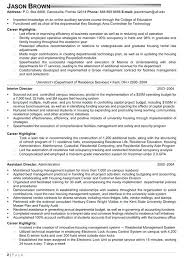 Vice President Of Operations Resume Examples Executive Sample Senior