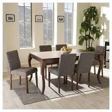 elsa contemporary dining chair set of 2 baxton studio target