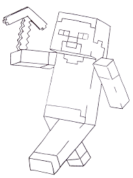 Download Coloring Pages Printable Minecraft Of Eassume