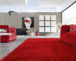 Red Living Room Ideas Uk by This Modern Room Setting Uses Rhythm With The Colour Red Rather