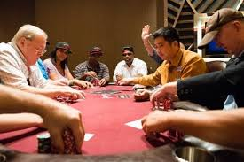 A Run On The Poker Tables