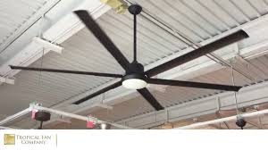 Hvls Ceiling Fans Residential by 84 Inch Titan Ceiling Fan With Extruded Aluminum Blades By