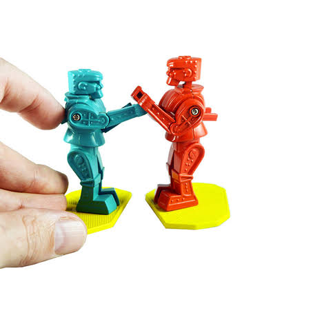 Worlds Smallest Boxing Robots, 8+