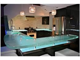 cuisine en verre les plus beaux comptoirs de cuisine en verre