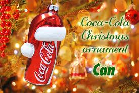 Coca Cola Stylish Christmas Ornaments Can Collectibles Brand Tree Ornament Gift American Goods United States