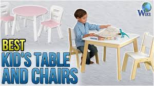 Top 10 Kid's Table And Chairs Of 2019 | Video Review