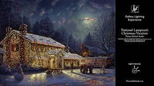 Thomas Kinkade Christmas Tree by National Lampoon U0027s Christmas Vacation By Thomas Kinkade Studios