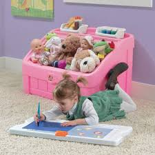 Step2 Art Easel Desk Toys by Step 2 2 In 1 Toy Box And Art Lid Pink Toys U0026 Games Arts