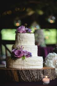 A Purple Rustic Elegant Asheville Wedding Via TheELD