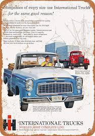 100 International Trucks Chicago Amazoncom WallColor 9 X 12 Metal Sign 1960