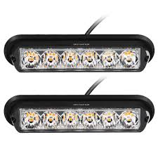 Rupse 2 Pcs Of Pack 6 LED Strobe Lights 12-24V Super Bright High ... Ultratow Mini Led Light Bar Amber Magnetic Mount Northern Tool 6 Windshield Warning Car Flashing Lightbar Viper Strobe Truck Lite Led Lights Httpscartclubus Pinterest Emergency For Trucks And Mounted Headlightsled Headlight Bulbsjeep Led Headlights 20w Update On My F250 Icom Mobile Antennas Strobes Jason Antmans 5 Function 4849 Tailgate Side Bed Strip 3528 72leds 4 Inch Round Whosale Kits Front Fender Install Howto Improve Vehicle Visibility Waterproof 18w 115lm Red High Power Trailer Blue Color Bars Ideas