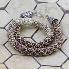 Silver Beaded Bracelet 4mm Alef Bet Jewelry By Paula